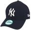 New Era 9forty MLB, cappellino con visiera dei New York Yankees blu/bianco Taglia unica