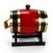Barile in legno da 1,5 l di quercia per whisky, botte di vino e grappa, botte di rovere +...