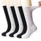 +MD 6 paia di non-legatura da uomo ammortizzata da uomo che si infila calzini di cotone co...