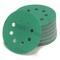 Woltersberger, dischi abrasivi per levigatrice rotorbitale di diametro Ø 125mm, Verde