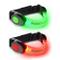 AccuBuddy Braccialetto a LED – 2 Braccialetti Luminosi per la Corsa e Come Luce di Sicurez...