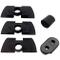 Q P Quality Printing 3D Gomma Ammortizzatore Vibrazioni per Xiaomi Monopattino Elettrico M...