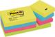 Post-it Foglietti Adesivi Colorati, Set di 12 Blocchetti Post it Notes Riposizionabili per...