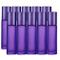 JamHooDirect, 10 flaconi di oli essenziali da 10 ml, vuoti, ricaricabili, in vetro smerigl...