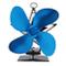 Elettrodomestici Potenza termica Ventilatore per camino Ventilatore termico per stufa a le...