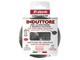 Frabosk Induttore Diffusore per Induzione, Acciaio Inossidabile, Grigio, 12x12x0.03 cm