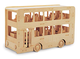 Double Decker Bus Woodcraft Construction Kit