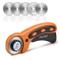 Sopito Taglierina rotativa da 45 mm con 5 Lame di Ricambio per Crafting Cucire Quilting Te...