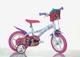 """Dino- Bicicletta per Bambina Barbie 12"""" Nylon, 612GL-BA"""