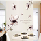 TTBH Home DIY Wallpaper Mangnolia Flowers Wall Painting Stickers Home Decor Decoration Rem...