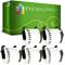 5 x DK22205 Etichette adesive continuo compatibile per Brother P-Touch QL-500 QL-500BW QL-...