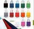 Stock 30 Pezzi Borsa Shopper Shopping in Cotone colorato