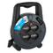 Electraline 49025 Prolunga Elettrica con Avvolgicavo 5 mt, 4 Prese Polivalenti (Schuko + 1...