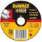 DeWalt DT42300-XJ Disco per Taglio su Metallo, Centro Piatto, Diametro 125 mm, Spesso 1.6...