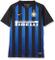 Nike Inter Home Std J T-Shirt, Bambino, Nero/Truly Gold/Full Sponsor, M