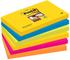 Post-it Super Sticky Foglietti, 90 Fogli, Confezione da 6 Blocchetti, 76 x 127 mm, Multico...