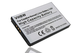 vhbw Li-Ion Batteria 900mAh (3.7V) per Creative Nomad MuVo 2 FM MuVo2 Jukebox Zen Xtra Juk...