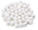 KnorrPrandell Gütermann 2660105 - Sfere di Ovatta 10mm, Confezione da 50, Colore: Bianco