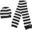 Juventus Set Baby Sciarpa e Cappello Cuffia Maglia a Righe 131401