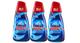 3x Finish All in 1 Max Powergel Detersivo Lavastoviglie, Regular, 650 ml ciascuno