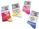 Disney Lotto di 5paia di calze bambini Ragazza Regina delle Nevi Del 23/26al 35/37 Rosa...