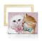 ufengke Kit Pittura Diamante 5D Coppie di Gatti Creazione Mosaici Perline Completo Ricamo...