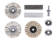 kwb 485300 Set fornitura per utensili rotanti per lucidatura