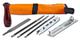Arnold 1194-X1-0030 - Set per affilatura catena della motosega con custodia a rotolo