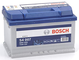 Bosch S4007 Batteria Auto 72A/h-680A