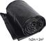 TEICHWERKplan Telo per Stagno in PVC, 2 x 1 m, Nero, 0,5 mm, 2 m2, per Stagno da Giardino