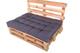 Chicreat Set di cuscini per arredi con pancali, 120 x 80 x 15 cm