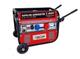 GrecoShop Gruppo elettrogeno/Generatore di Corrente 2800W - 220/380V avviamento Elettrico...