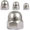 FASTON dadi esagonali per cappello alta forma in acciaio inox A2 V2A dadi decorativi dado...
