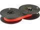 Nastro inchiostrato per macchine da scrivere DIN 2103, diametro: 53 mm, colore: nero e ros...
