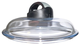 Ballarini Cortina Granitium Igloo Coperchio in Vetro Trasparente, 24 cm