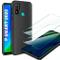 AROYI Cover Huawei P Smart 2020 &[2 Pack] Pellicola Protettiva in Vetro Temperato, Nero Si...