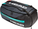 Head Gravity Sport Bag, Borsa da Tennis Unisex-Adulti, Nero/Teal, Taglia Unica