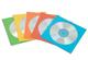 Fellowes 9068901 Buste per CD, in Carta, Confezione da 50 Pezzi, Colori Assortiti