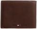 Tommy Hilfiger Johnson Trifold Wallet, Portafoglio Uomo, Marrone (Braun (Dark Brown 201),...