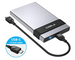 ineo Custodia Externa per Disco Rigido USB 3.1 Tipo C Gen 2 (10Gbps), Case Externo Allumin...