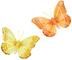 PBS 6.61548 Confezione Farfalle con Clip, Multicolore