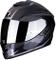 Casco moto Scorpion EXO-1400 AIR CARBON ESPRIT Black-Silver, Nero/Grigio, S