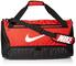 Nike Nk Brsla M Duff - 9.0 (60L) Borsa Sportiva, Unisex – Adulto, University Red/Black/Whi...