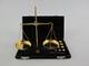 GundG 107.120-1 - Bilancia pesa Oro 20 Grams, in Scatola di Pelle, Lunghezza 18 cm