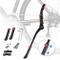 Gifort Cavalletto Bicicletta, Cavalletto Laterale per Bici Regolabile Lega di Alluminio in...