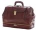Borsa Medico Vera Pelle - 0017 Marrone - Luxury - Leather Bags Tuscany