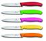 Victorinox - Set di 5 coltelli da Verdura SwissClassic, Lunghezza 10 cm, 6.770X.5, Colori...