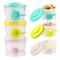 Zooawa Contenitore per Latte in Polvere, [3 Pz] Dosatore per Latte in Polvere in Plastica...
