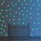 WOWOSS 253 Punti Adesivi Murali Stelle Luminose per il Muro e il Soffitto Decorazioni Dive...