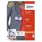 Avery 4822 Kit Portabadge con Clip, Senza PVC, Trasparente, 25 Pezzi